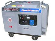Дизельный генератор GLENDALE DP 6500SLE/3 АВТОЗАПУСК в кожухе,купить со склада,Киев,Днепропетровск,Винница,Житомир,Украине