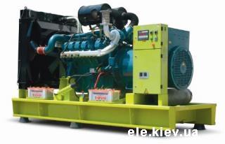 Дизельные электростанции GDD с двигателем DOOSAN-DAEWOO купить в Киеве, Днепропетровске, Одессе, Виннице, Житомире, Украине
